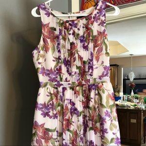 Jack by B.B. Dakota purple floral dress
